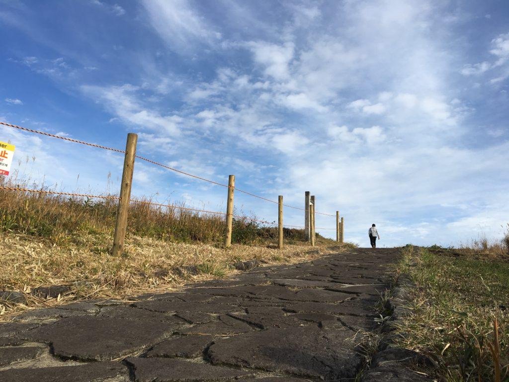 かぶと岩展望所道