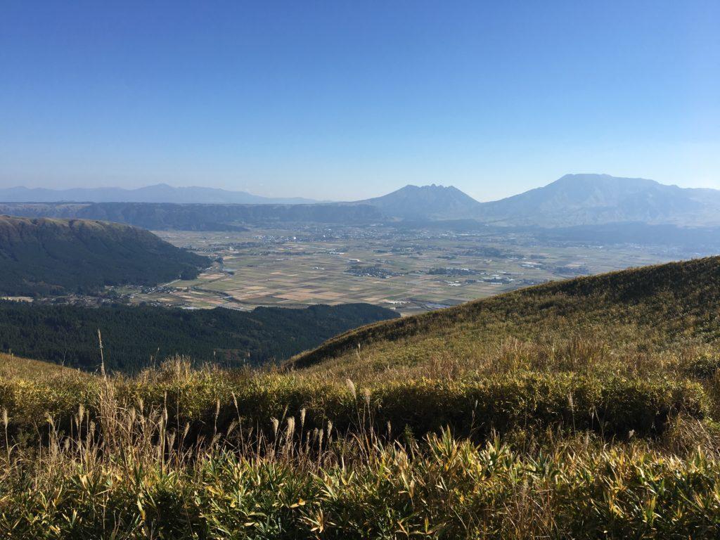 大観峰からの風景