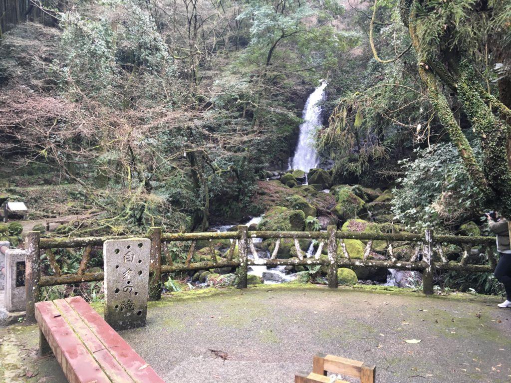 糸舞季からの滝