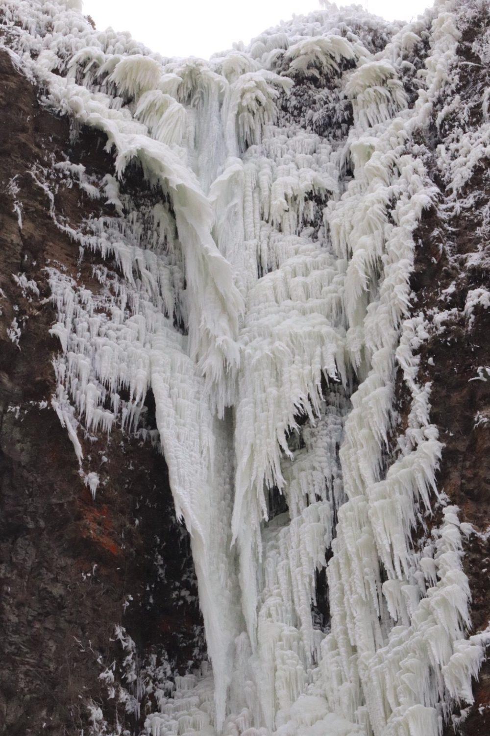 古閑の滝アップ