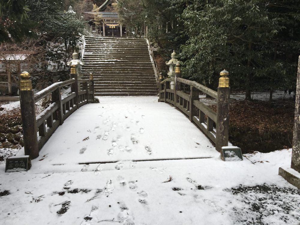 国造神社の橋