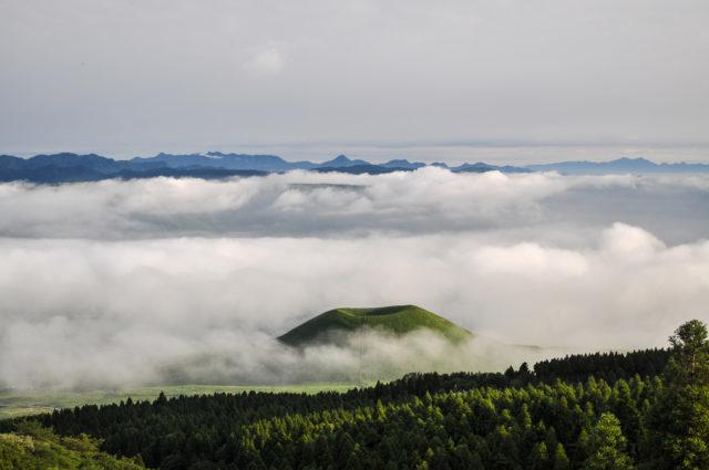 米塚と雲海