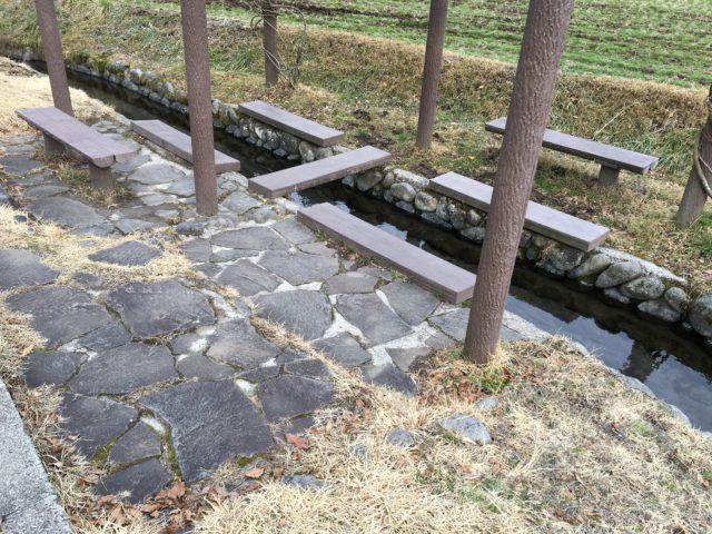 池山水源の足水